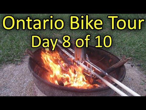 Point Farms To Conestogo Lake - Ontario Bike Tour #2 - Day 8 Of 10