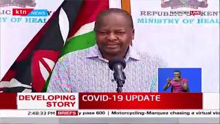 CS Kagwe: It is interesting that people are asking for a lock-down and are unable to follow a curfew