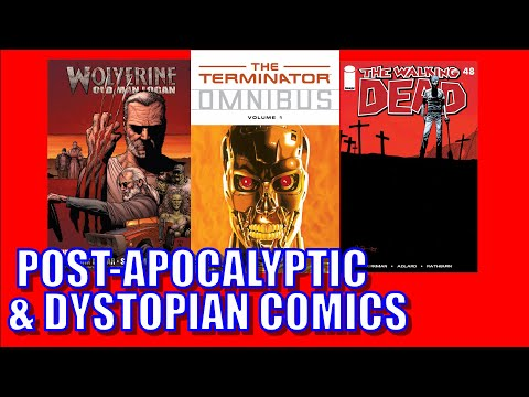 Top 10 Post Apocalyptic & Dystopian Comics