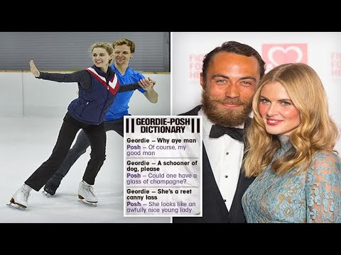 Donna Air switches back to Geordie accent for Dancing On Ice