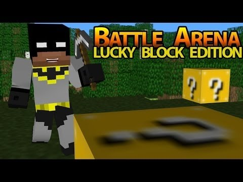 Minecraft New Epic Lucky Block Battle Arena W Jeromeasf