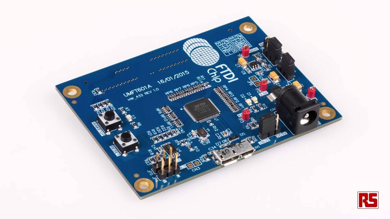 FTDI Chip FT60x SuperSpeed USB3 0