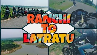 RANCHI to LATRATU || The truck almost hit us || Exploring Jharkhand || Sunday Bliss