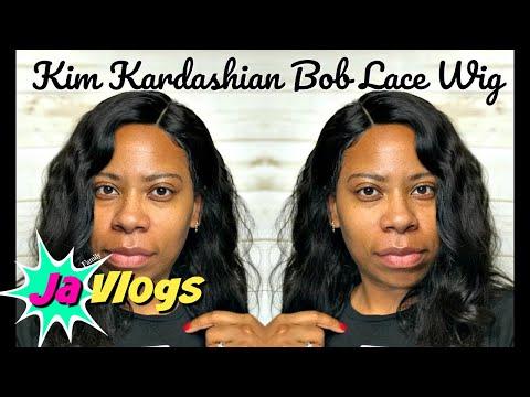 KIM KARDASHIAN BOB LACE WIG | WOWAFRICAN