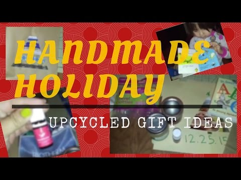 Handmade Holiday with #YTMM - Upcycled Gifts
