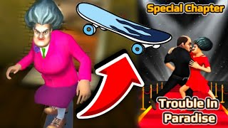 SCARY TEACHER 3D! WRAP TRAP! NEW LEVEL! NEW UPDATE! Trouble in Paradise! Special Chapter!