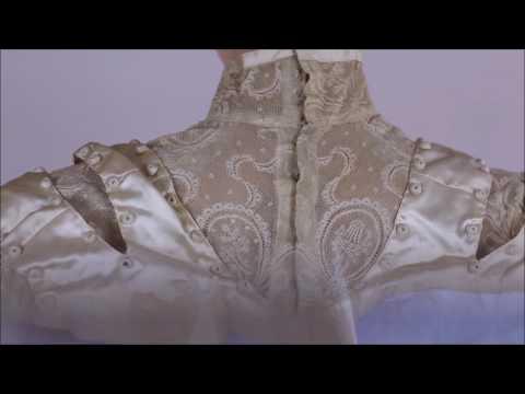 Rare French Edwardian Wedding Dress Circa Antique Fashions