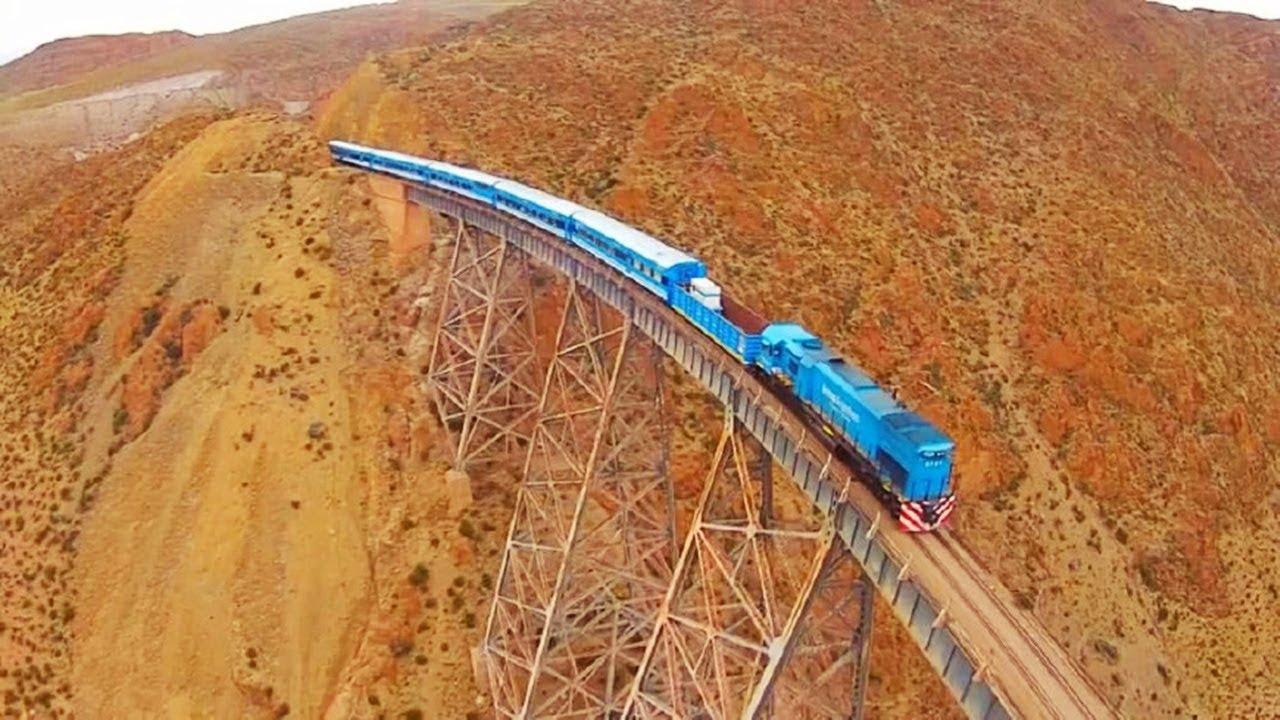 Bu köprüyü geçmeye cesaret edemezdin... Dünyanın en tehlikeli demiryolu hattı !!