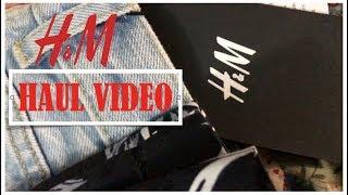 H&M HAUL VIDEO: CLEARANCE 2017