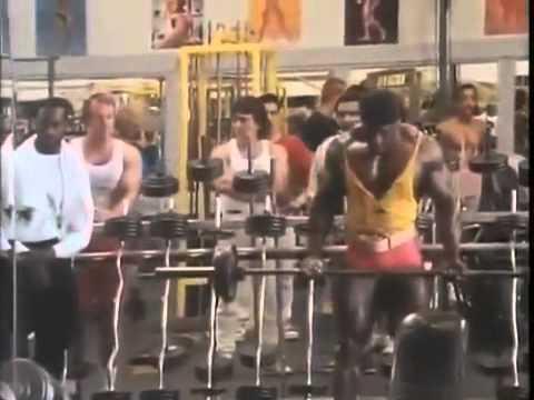 Mr. Olympia Lee Haney training 1989 Bodybuilding