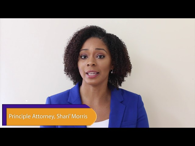 A Legal Minute with Attorney Shari' Morris Presents: Child Custody Pt.3