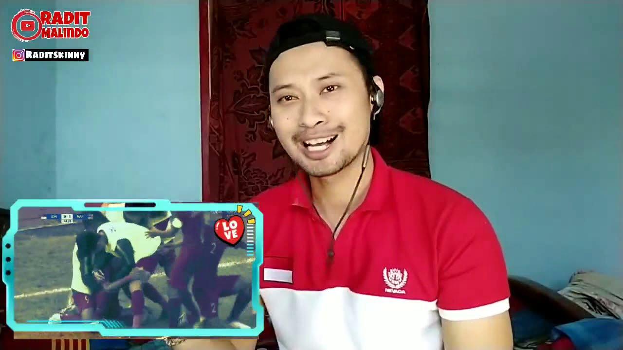 Download Harus rela kalah lagi !! MALAYSIA (4) VS INDONESIA (3)  SEMIFINAL U18 AFF   indoreaction