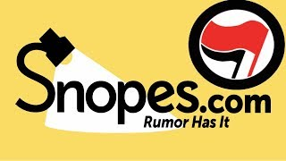 Snopes Defends Antifa, Claims They Aren't Equally As Violent as the Alt-Right
