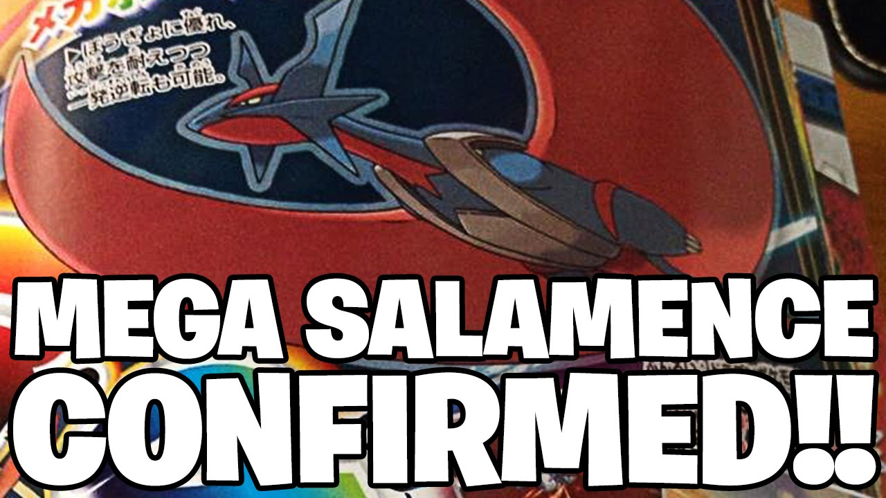 Pokémon Omega Ruby & Alpha Sapphire MEGA SALAMENCE ...