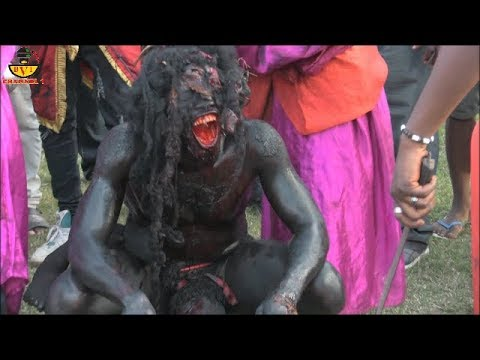 Demon Captured Live In Anambra State.