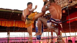 Lethwei Burmese Boxing [HD] - Fight Tournament near Eindu (5) - Kayin State Myanmar - Thingyan 2013
