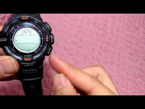 Casio Protrek Rpg 270 , Modul 3415, Altimeter Screen Change