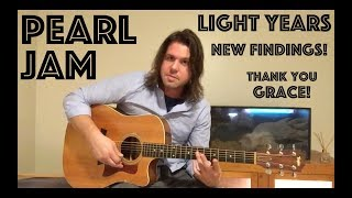 Guitar Lesson: Some New Findings About Light Years + Voicings Spiel