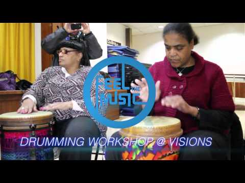 Feel the Music! Percussion Workshop at VISIONS