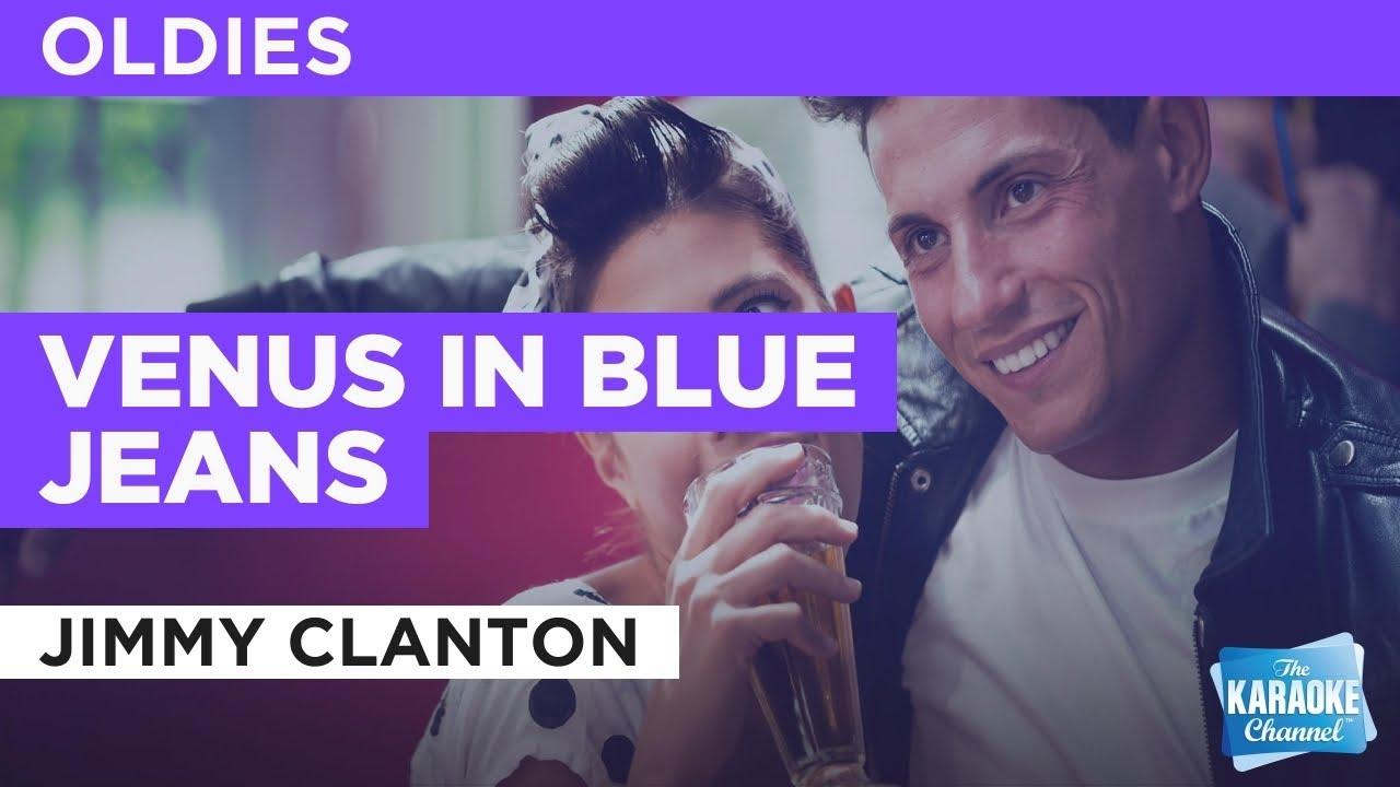 Venus In Blue Jeans : Jimmy Clanton | Karaoke with Lyrics #1