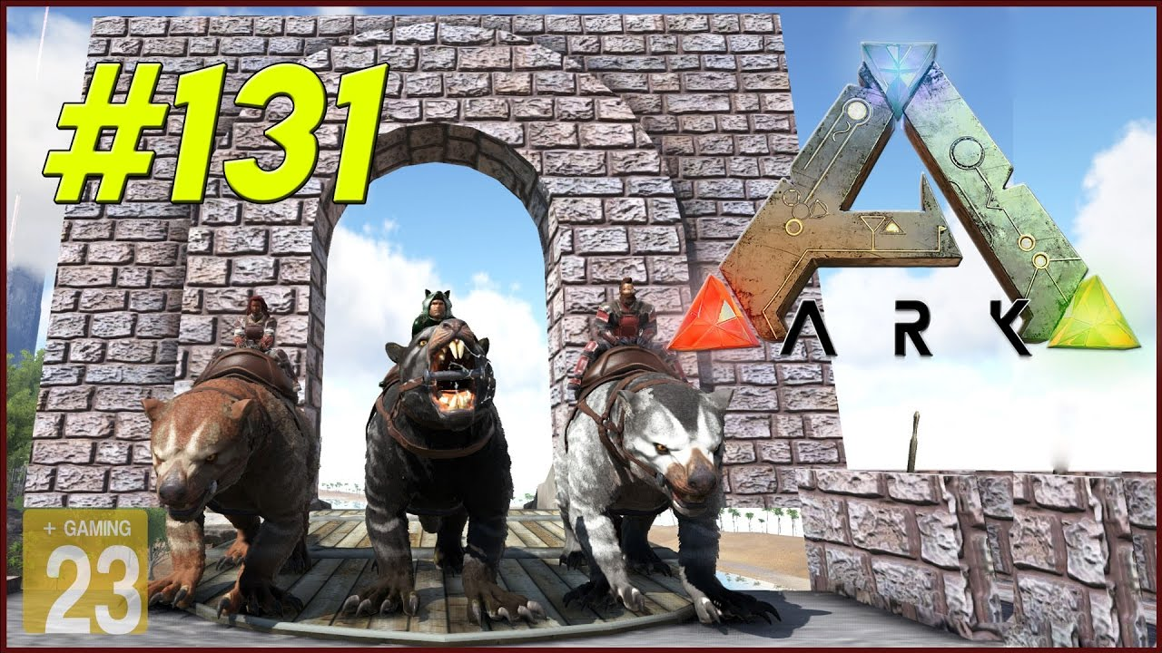 Ark Survival Evolved Thylacoleo Auf Tour 1 131 Lets Play