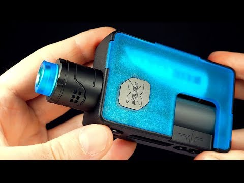 The Pulse X Squonk Kit! Vandy Vape! Vapor Trail Channel!