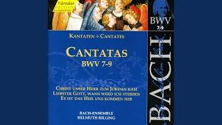 Christ unser Herr zum Jordan kam, BWV 7: Aria: Des Vaters Stimme liess sich horen (Tenor)