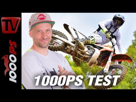 KTM Motocross 2019 - 1000PS Test - 2 Takt und 4 Takt - Vergleich