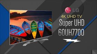 LG 60 Silver Super UHD 4K Smart LED HDTV 60UH7700 - Overview