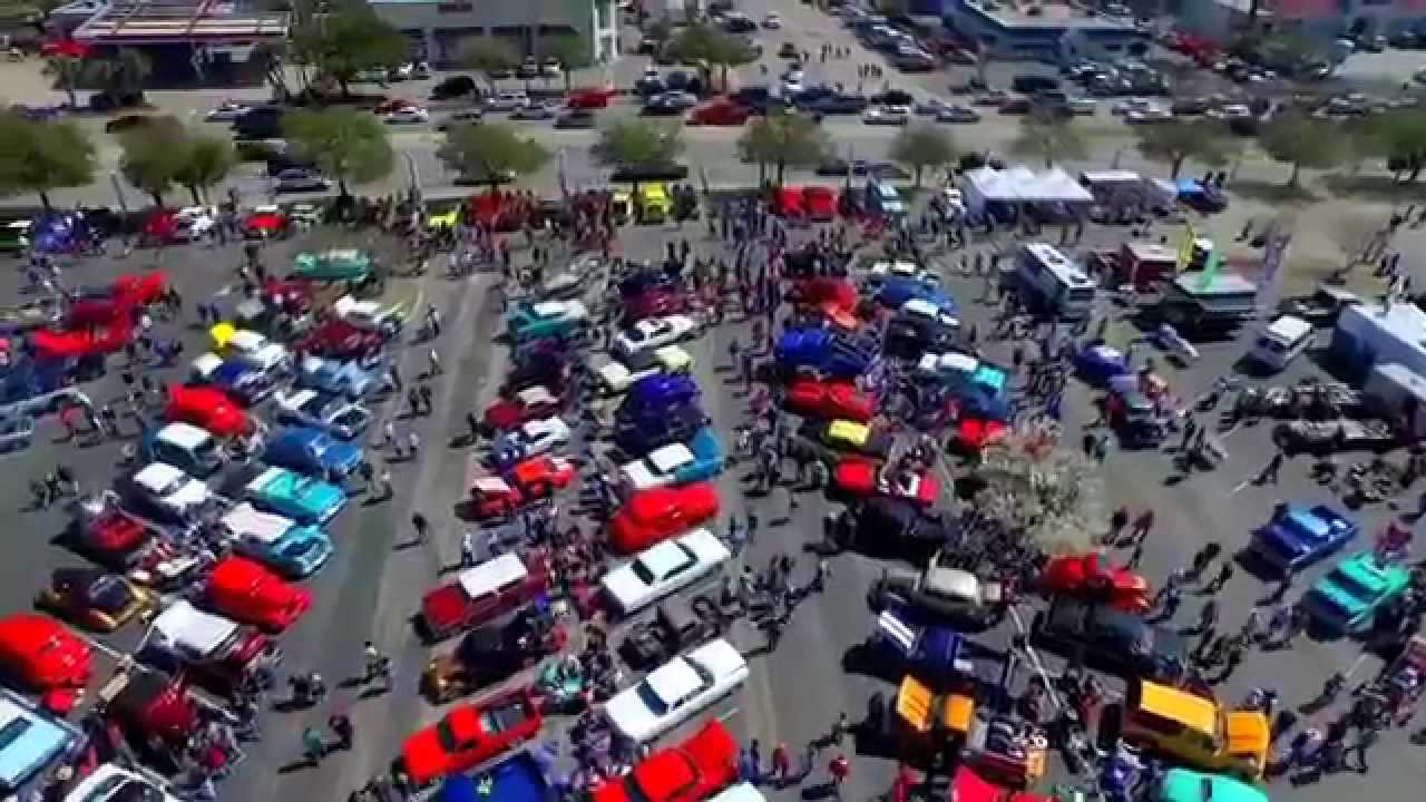 Myrtle Beach Classic Car Show Via Drone Video Productions YouTube - Myrtle beach car show