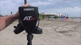 """Metal Detecting: Beach Testing The New Garrett """"AT MAX"""" Metal Detector"""