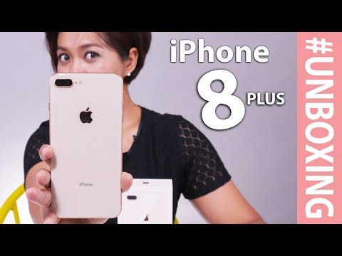 Unboxing iPhone 8 Plus Gold Indonesia