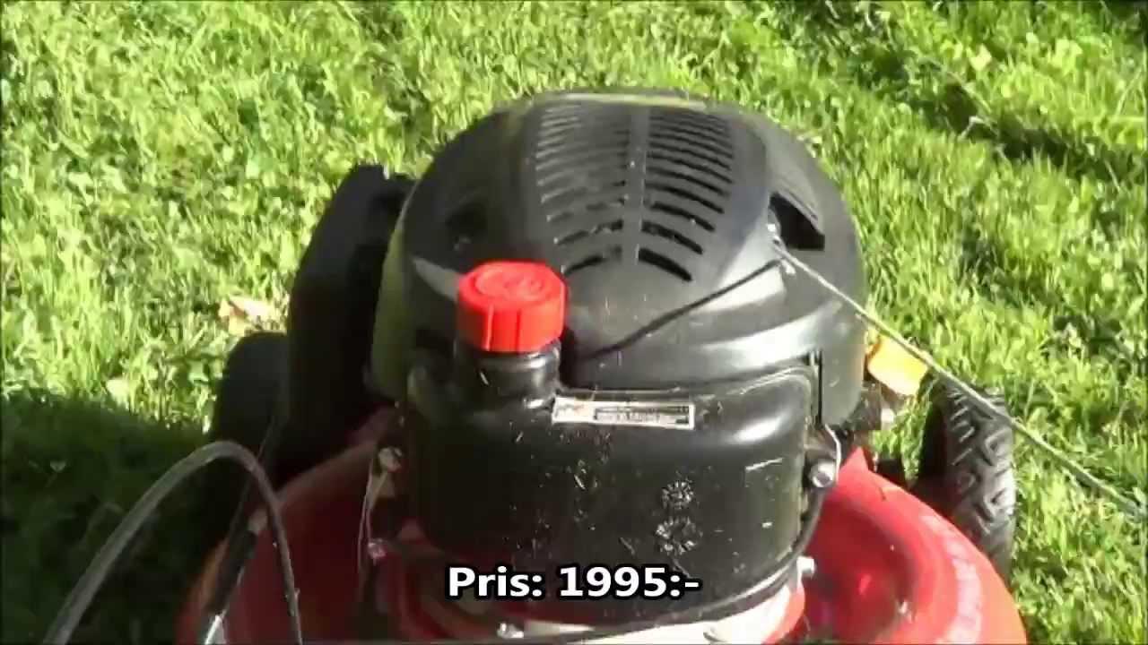 Gräsklippare meec t475