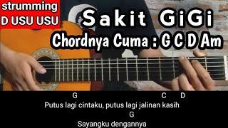 Kunci Gitar SAKIT GIGI - Meggy Z | Lagunya Lagi Ngetrend