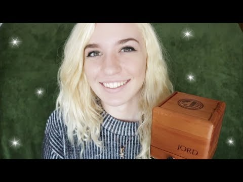 ASMR ~ Tapping & Scratching Wooden Objects