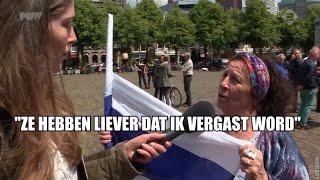Joden houden keppel op tijdens demonstratie