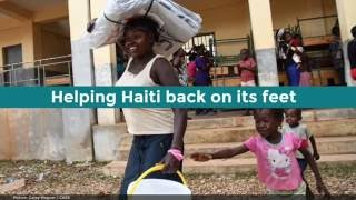 UK aid for those affected by Hurricane Matthew in Haiti