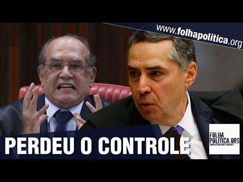 Veja quando Gilmar Mendes perdeu o controle emocional ao ser corrigido pelo ministro Barroso