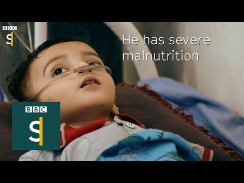 "Yemen: ""Largest humanitarian crisis in the world"" BBC Stories"