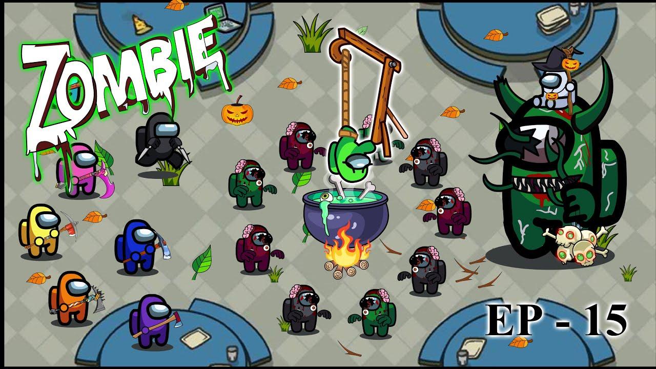 Among us Zombie Ep 15 Witch  | AMONG US Animation | 어몽어스 좀비