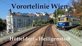 Vorortelinie Wien / Vienna | Hütteldorf - Heiligenstadt | Führerstandsmitfahrt | Cab Ride | 4042.01