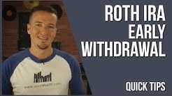 Early withdrawal from Roth IRA | FinVids 📽