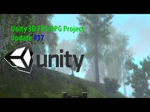 [Unity 3D] FPS/RPG Project Update #17 (Difficulty, Story Generator)