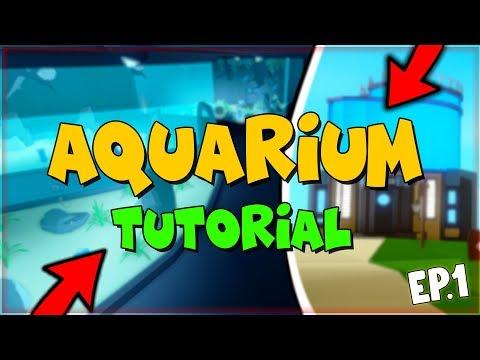 How To Build A Aquarium In Fishing Simulator - ROBLOX (ep1)