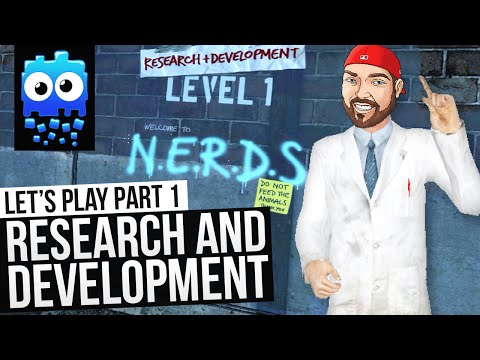 Let's Play! - Research and Development - Part 1 - N.E.R.D.S. - [Half Life 2 Mod]