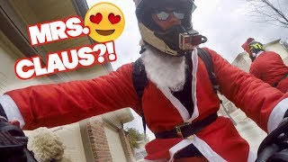 Searching For My Mrs. Claus on my Motorcycle!