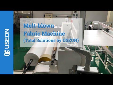 Melt Blown Fabric Machine [NEW Complete Production Line]