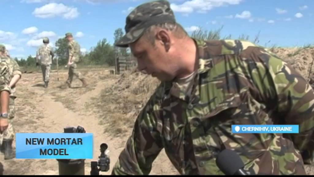 Ukraine new mortar model weapon experts test new military for Nord gear motor 3d model