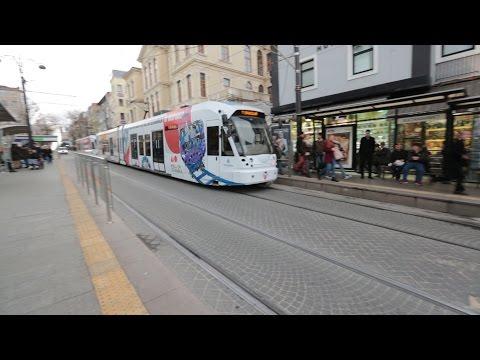Sultanahmet - Karaköy. Tram T1. Istanbul