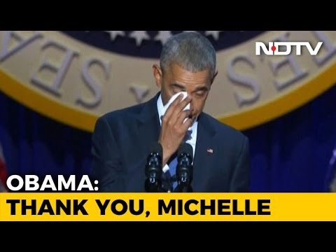 Barack Obama, In Tribute to Wife Michelle, Calls Her His Best Friend